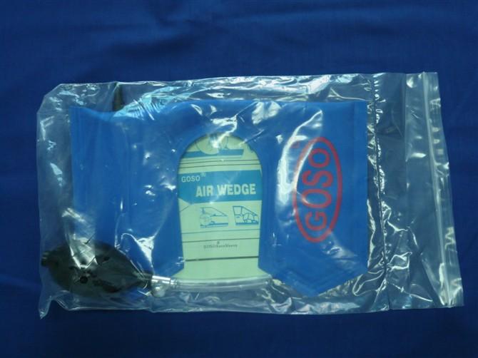 GOSO U shaped airbag blue