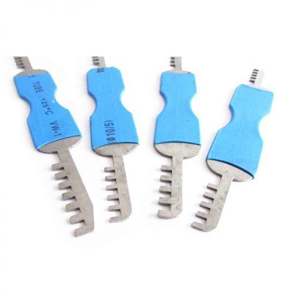 GOSO 4 Pieces Comb Padlock Picks