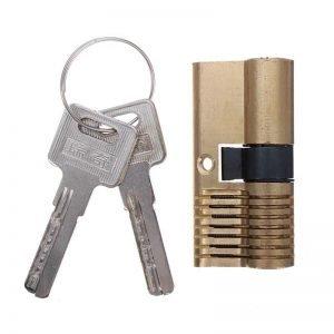 Cutaway 7 Pin Dimple Practice Lock