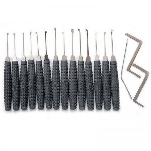 14-Pieces GOSO Dimple Lock Pick Set