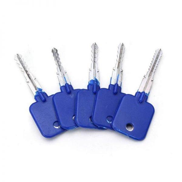 GOSO 5-Pieces Cross Locks Try-out Keys