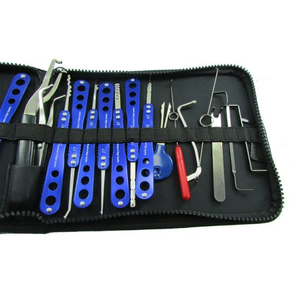 H&H 30-in-1 Lock Picks Set Boutique Locksmith Tools