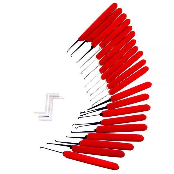 HUK Red Tiger Lock Picks