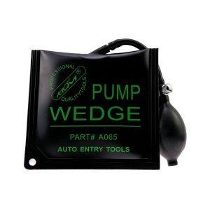 KLOM Pump Wedge Black Middle