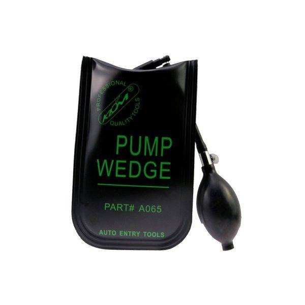 KLOM Pump Wedge Black Small