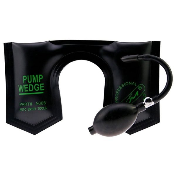 KLOM Pump Wedge Black U-Shape