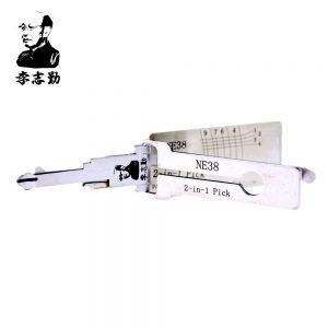 Lishi NE38 2in1 Decoder and Pick