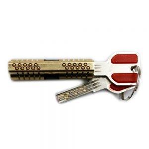 Cutaway 11 Pin Dimple Practice Lock