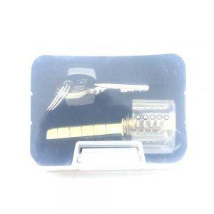 Transparent 5 Pin Rim Cylinder Practice Lock