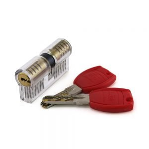 Transparent Double 11 Pin Euro Lock