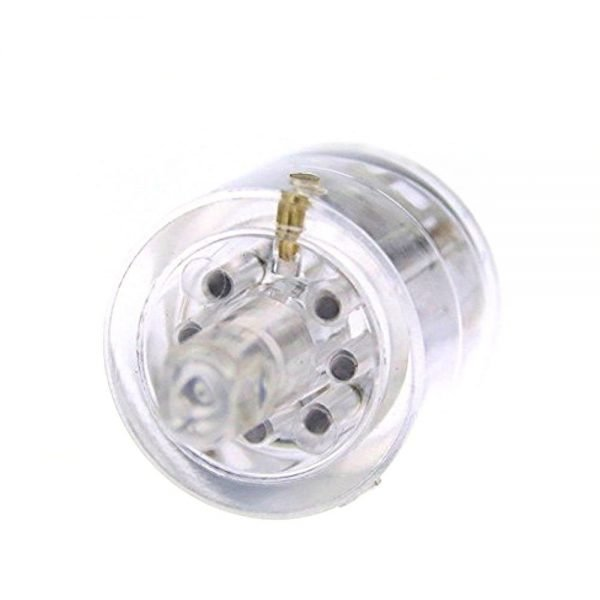 Transparent Tubular Practice Lock