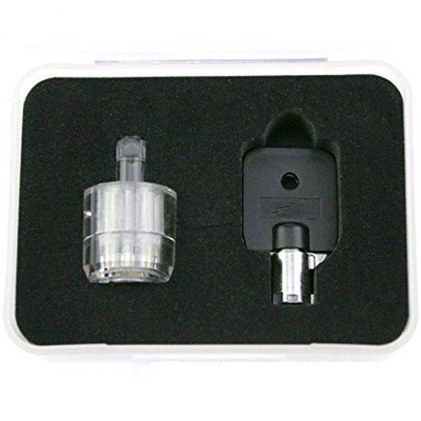 Transparent Tubular Practice Lock