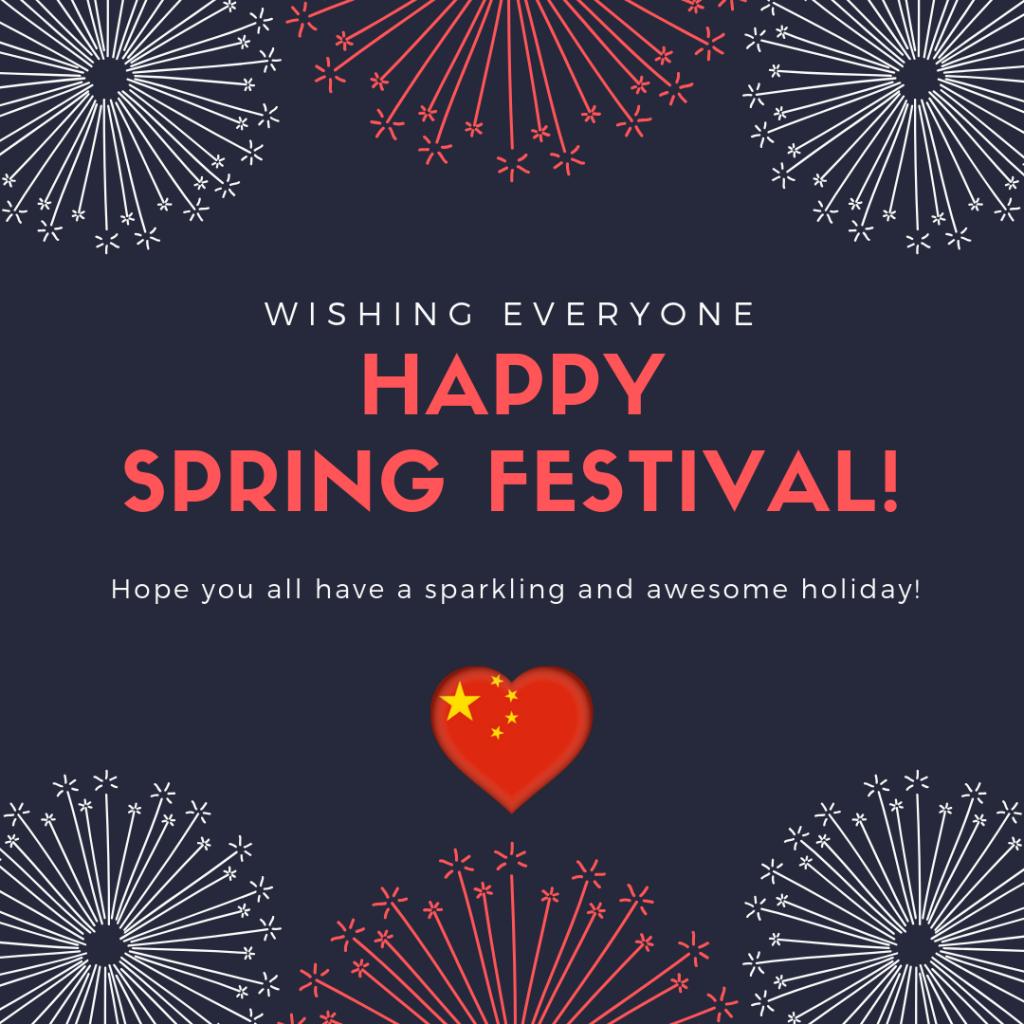 Happy Spring Festival 2019