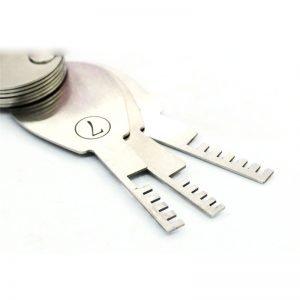 HUK Nine Piece Comb Lock Pick Set