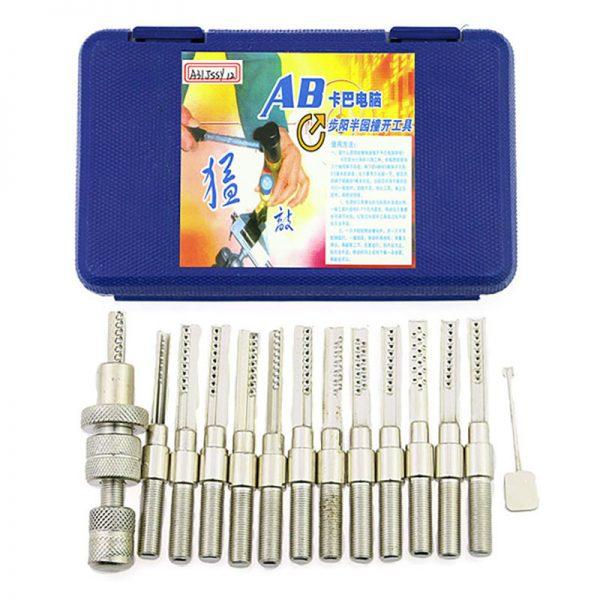 Super Dimple Lock Bump Pick Gun Kit