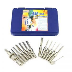 Super Dimple Lock Bump Pick Gun Kit