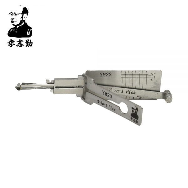 Lishi YM23 2in1 Decoder and Pick for Mercedes & Smart