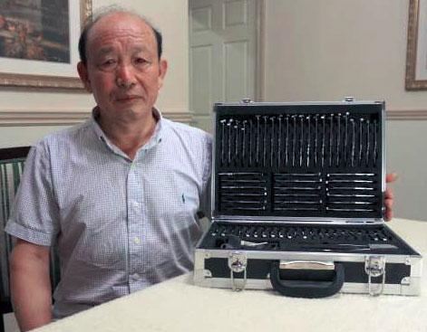 Mr. Li's original tools